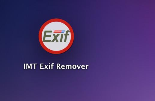 exif remover Mac OS X