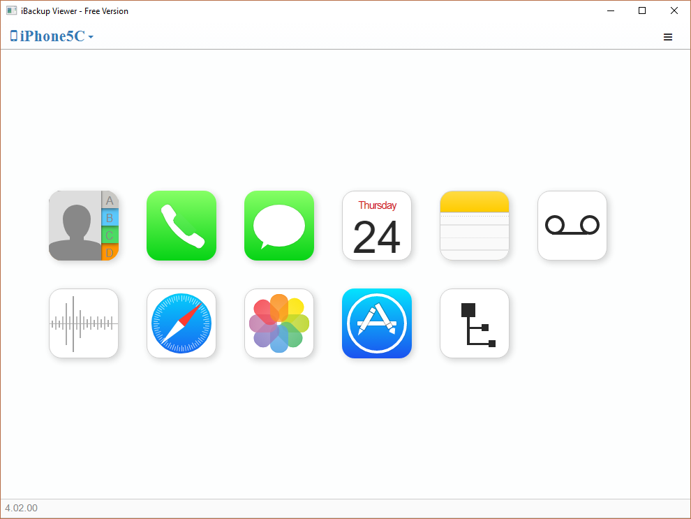 Learn to use iBackup Viewer to extract information from iOS