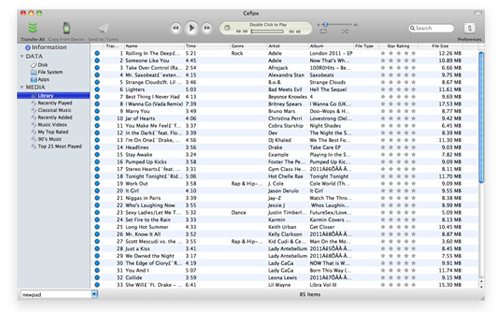 Transfer music from iPhone to Mac and iTunes
